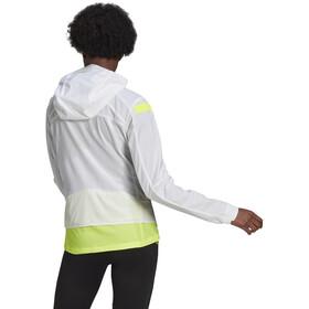 adidas Marathon Jakke Damer, gul/hvid